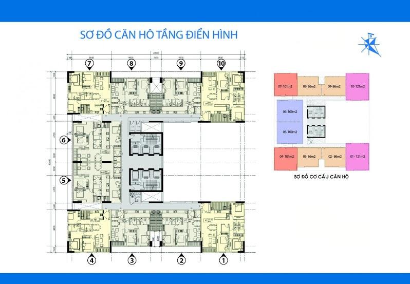 CHUNG CƯ PHÚ MỸ COMPLEX - N01T4 NGOẠI GIAO ĐOÀN